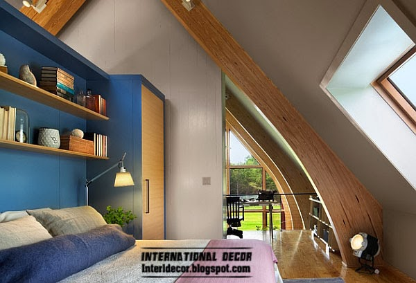 blue bedroom, Fashion color trends 2014 interior design decor