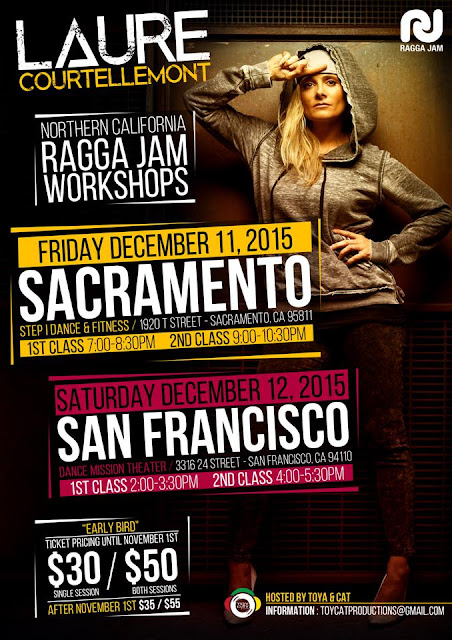 Laure Courtellemont Will Be In Sacramento December 11th!