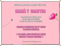 certificado mamá y craft