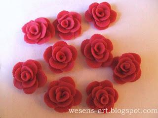 Marzipan Roses 09     wesens-art.blogspot.com