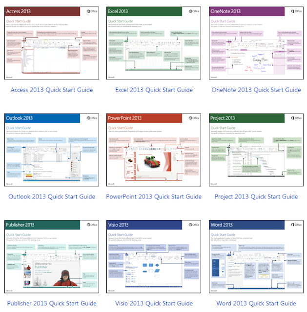 Quick Start Guide for Office 2013
