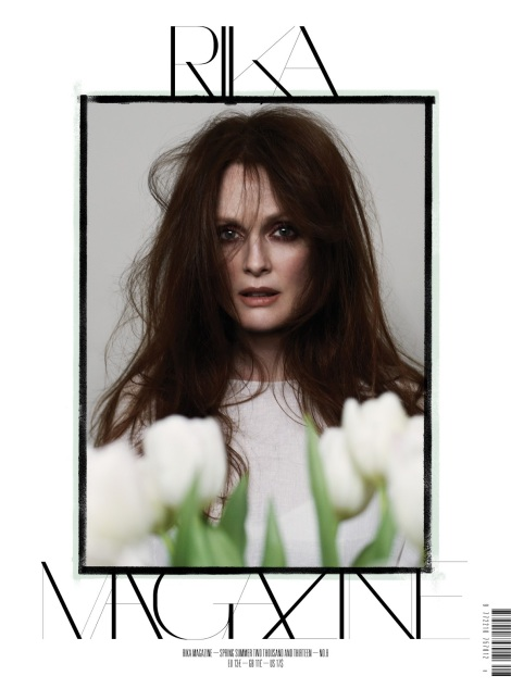 Julianne Moore on the Cover of Rika Spring 2013
