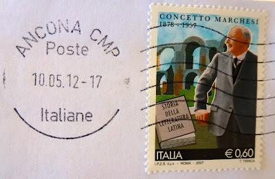 Concetto Marchesi francobollo