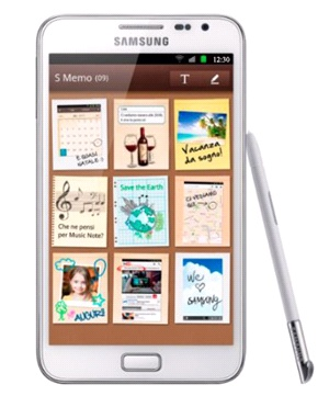 Samsung Galaxy Note (N7000) Blanco