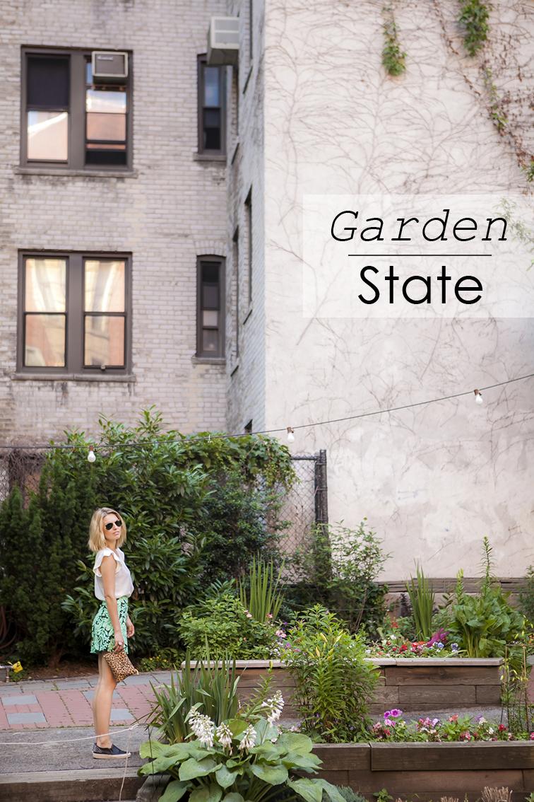 Fashion Over Reason Garden State opener, Upper West Side Community Garden