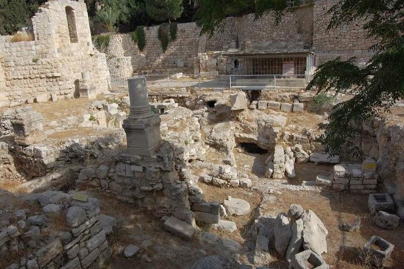 arqueologia e teologia descia um anjo realmente no tanque de betesda
