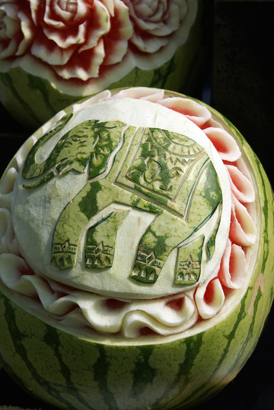 Too Skillfully Watermelon Sculptures