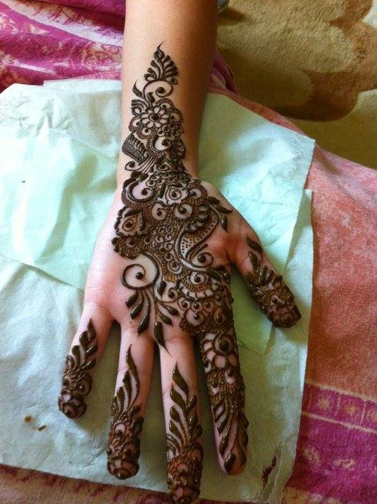 Latest Bridal Mehndi Designs Collection 2015