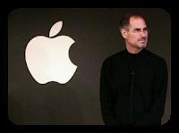 اختيار التفاحه المقضومه كشعار للشركه