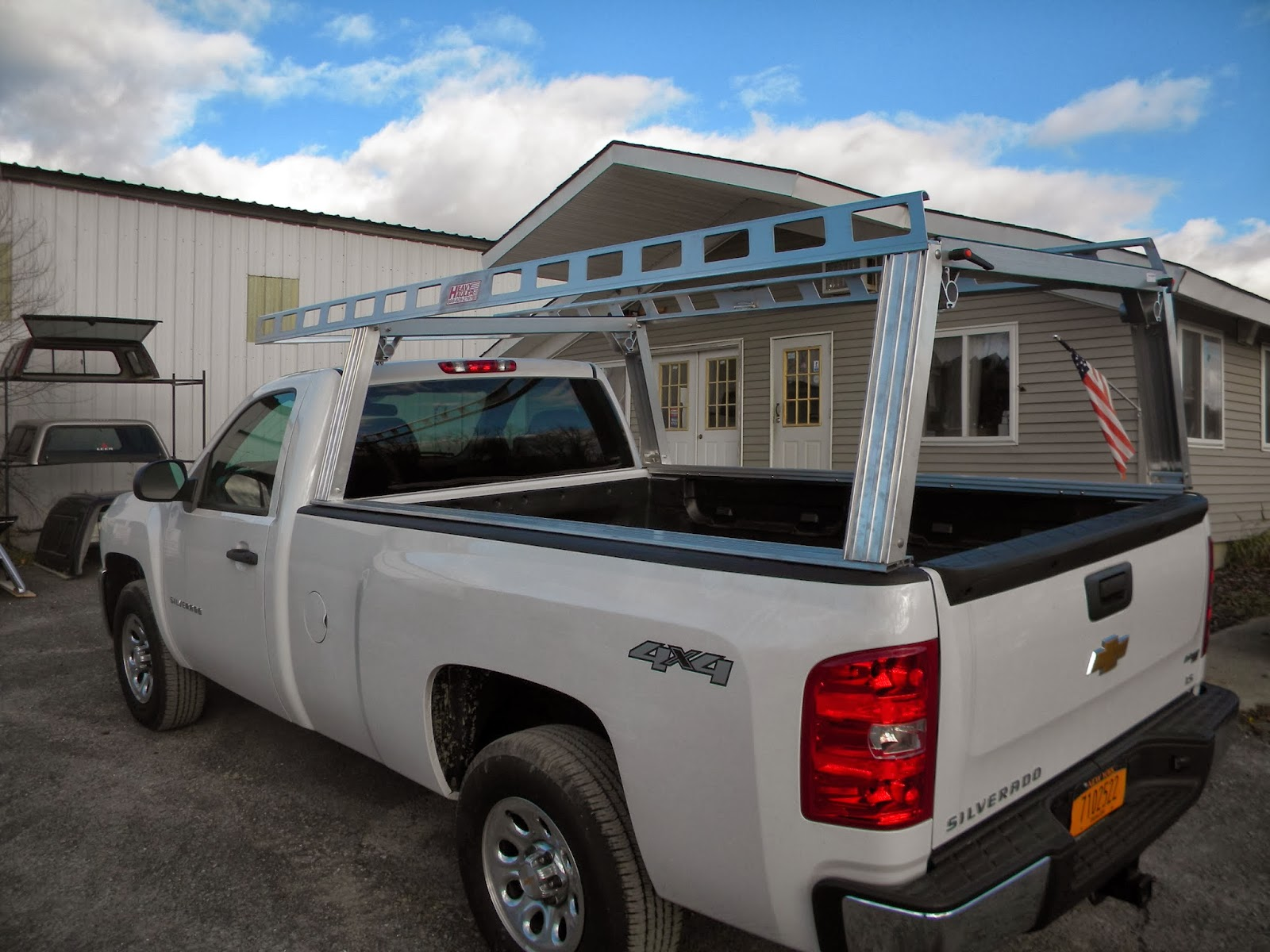 System One Ladder Rack ST-200 | Heavy Hauler Trailers