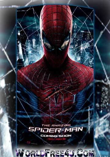 Poster Of The Amazing Spider-Man (2012) Full English Movie Watch Online Free Download At Downloadingzoo.Com