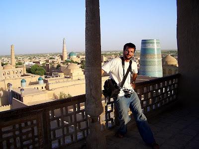 Recorriendo la ruta de la seda, Khiva (Uzbekistán)