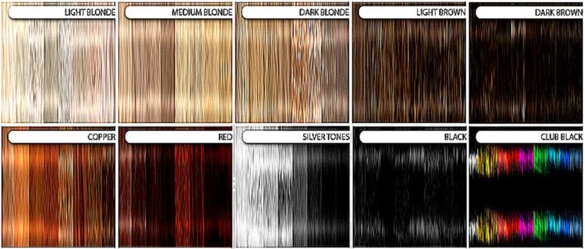 Test Hair Colors On Your Picture Free Coloring Pictures