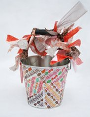 Candy wrapper buckets 1