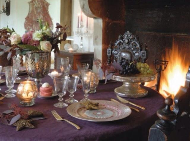 Table de fêtes classique