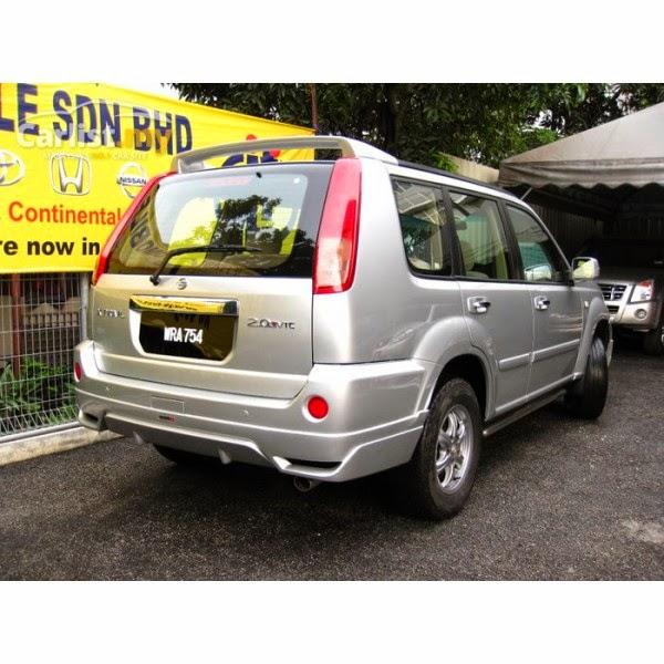 add on Nissan Xtrail NISMO Edition