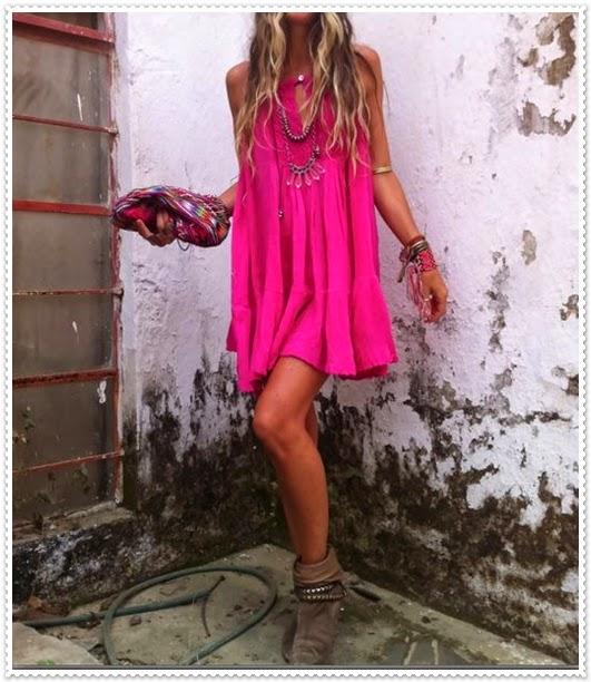 Inspiration für rosa Kleid