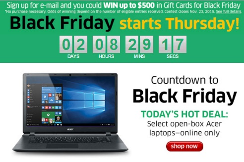 The Source Countdown To Black Friday