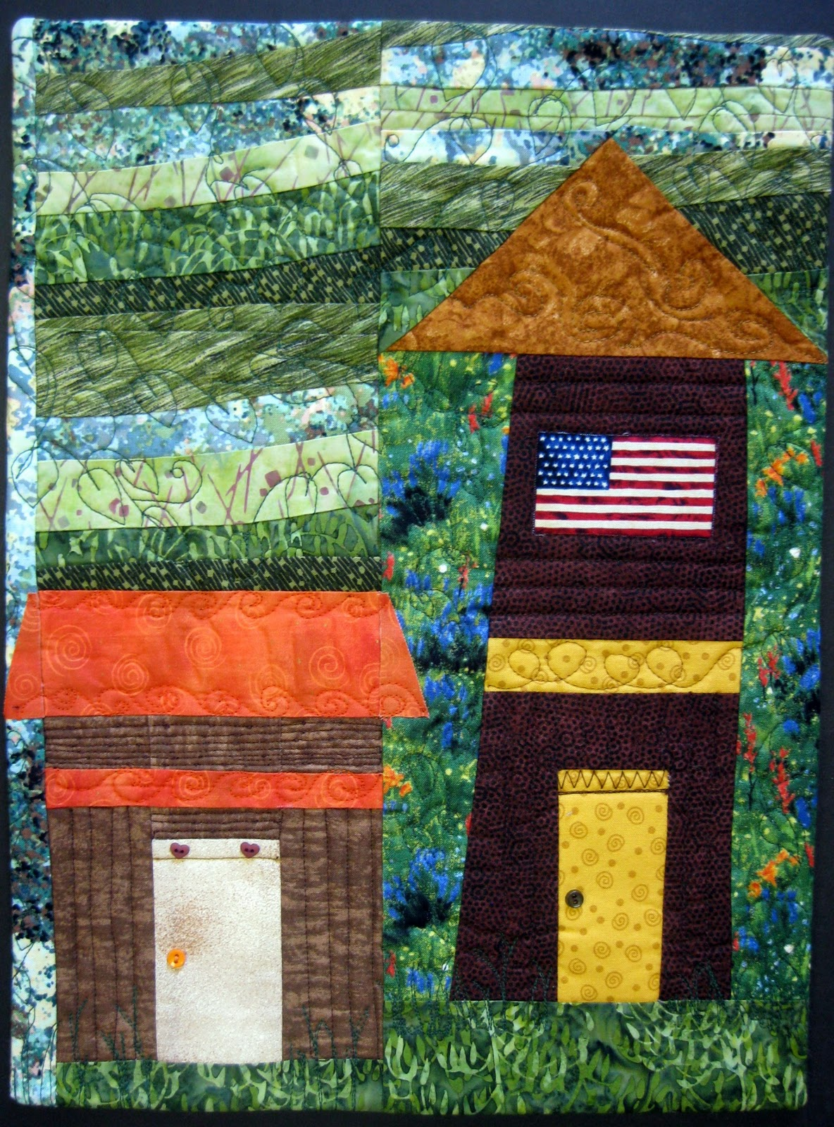 The house quilt project mountain views - Mountain house projects ...