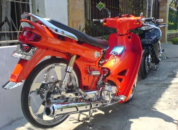 Modifikasi Motor Astrea Grand