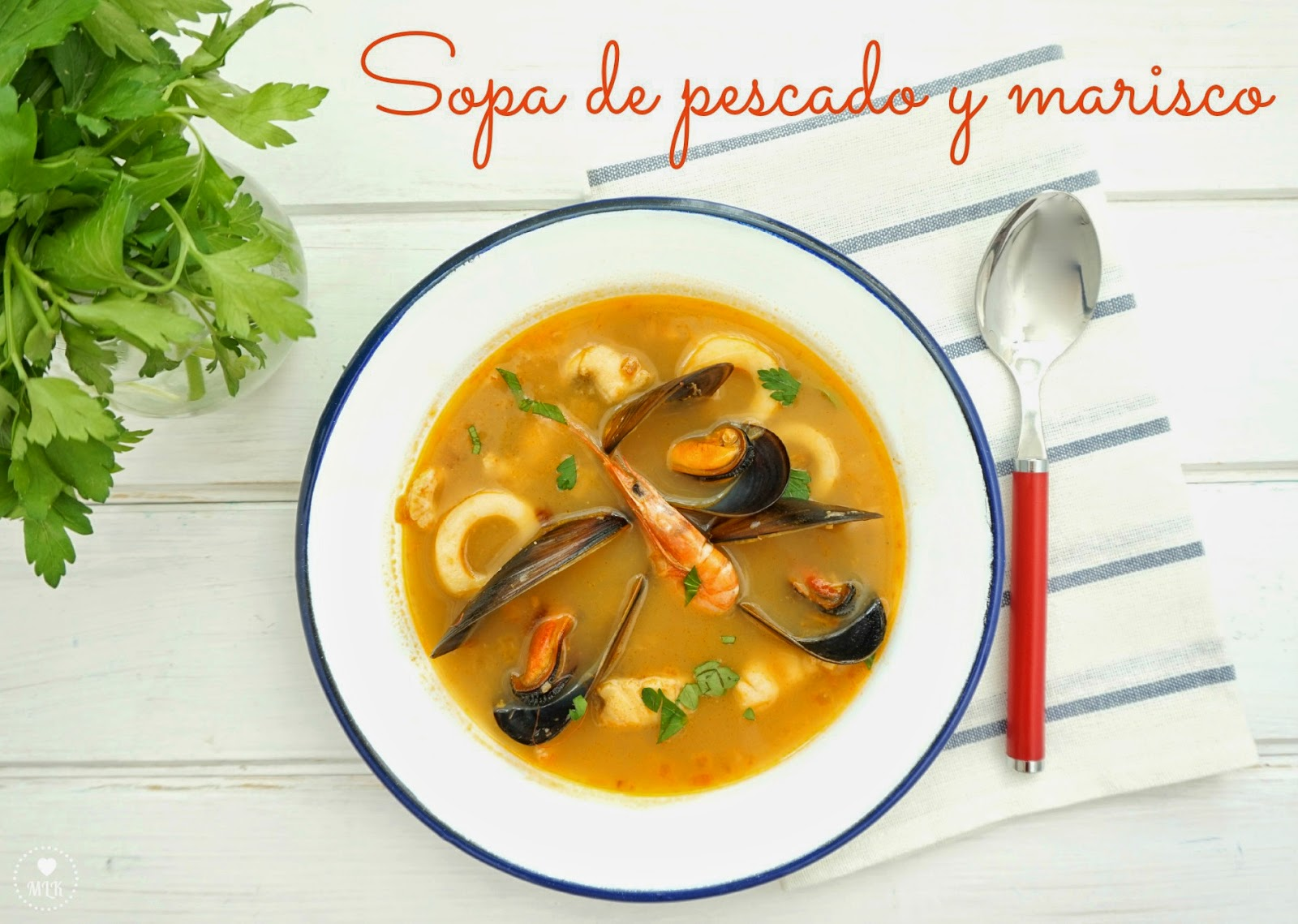 My little kitchenette sopa de pescado y marisco - Sopa de marisco y pescado ...