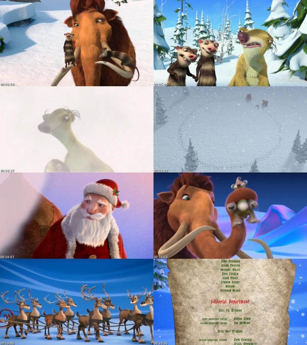 La Era de Hielo: Una Navidad Tamaño Mamut (2011) [DVDRip] [Latino]