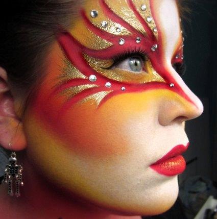 maquillaje de fantasia en alicante