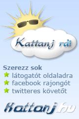 Az oldalunk megtalálható a kattanj.hu oldalon is!