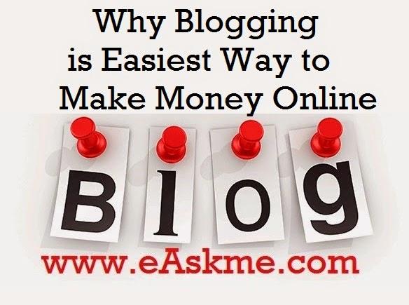 Blogging Best online money making business : eAskme