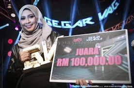 Siti Nordiana Juara Gegar Vaganza Musim Kedua