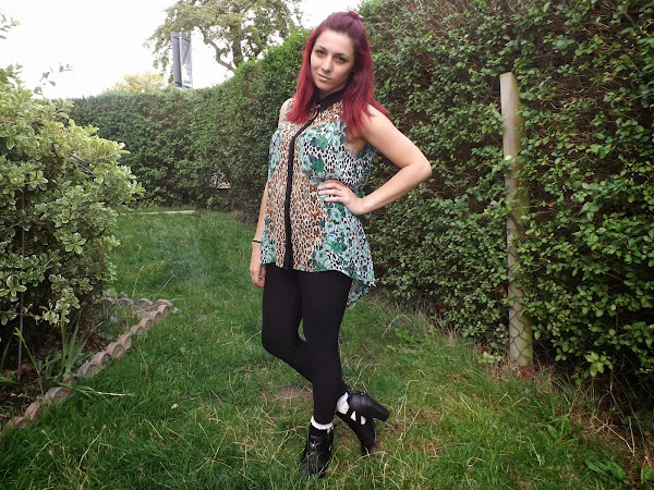 What Cat Wore: Leopard Shirts & New Boots
