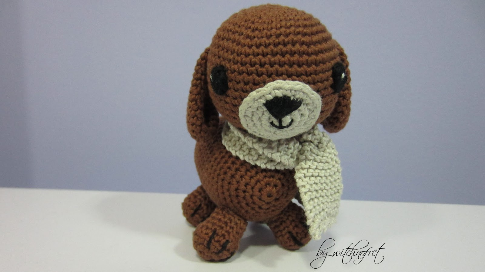 Amigurumi Dog Knitting Patterns : Toby the crochet dog (with free pattern)