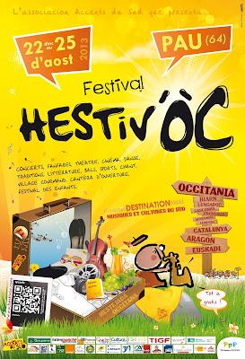Hestiv'Oc 2013 le #festival des musiques et cultures du Sud à #Pau #béarn