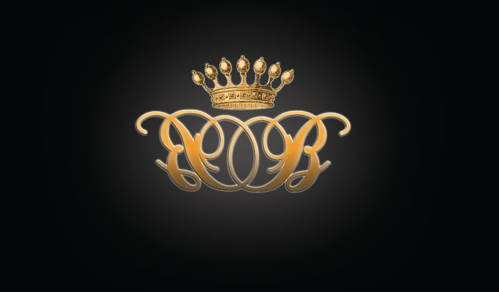Royal Letters Crown Design Smaple