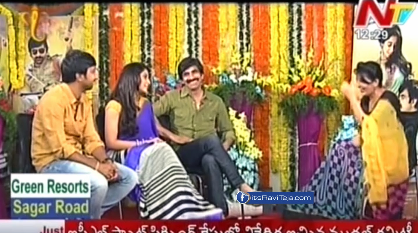 Special Chit Chat With Raviteja About Power Movie