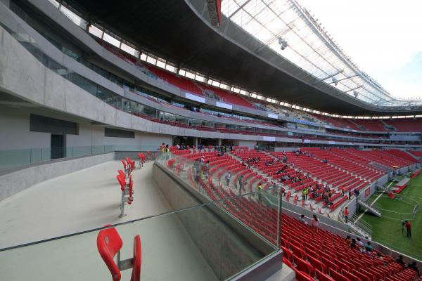 Arena Pernambuco está pronta para receber aos jogos da Copa das Confederações e Copa de 2014