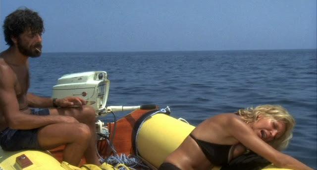 «Отнесённые необыкновенной судьбой в лазурное море в августе», режиссёр Лина Вертмюллер