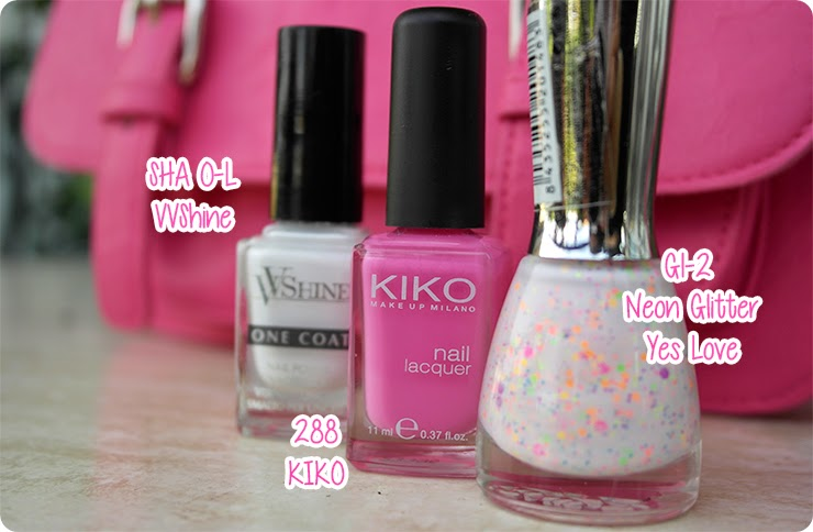 kiko 288 yes love neon glitter