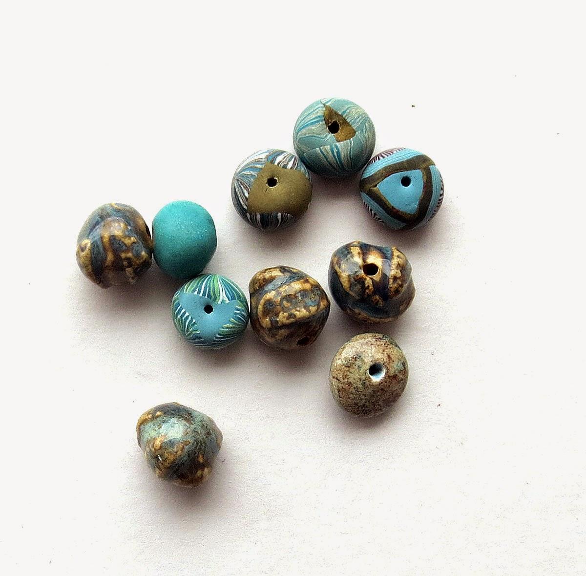Ceramic Bead Beads: Art Bead Scene Blog: Tutorial: Art Beads. Macrame And Leather