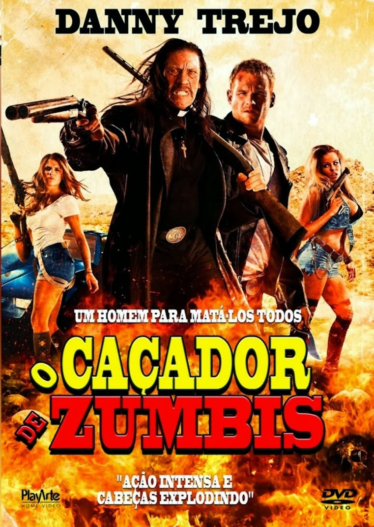 Download Filme O Caçador de Zumbis BDRip Dublado + Legendado - 2014