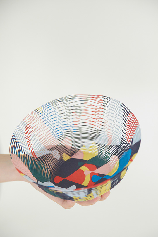 party baskets, party bowls, party ideas, party decorations, japanese paper baskets, colourful bowls and baskets, mina perhonen design shop