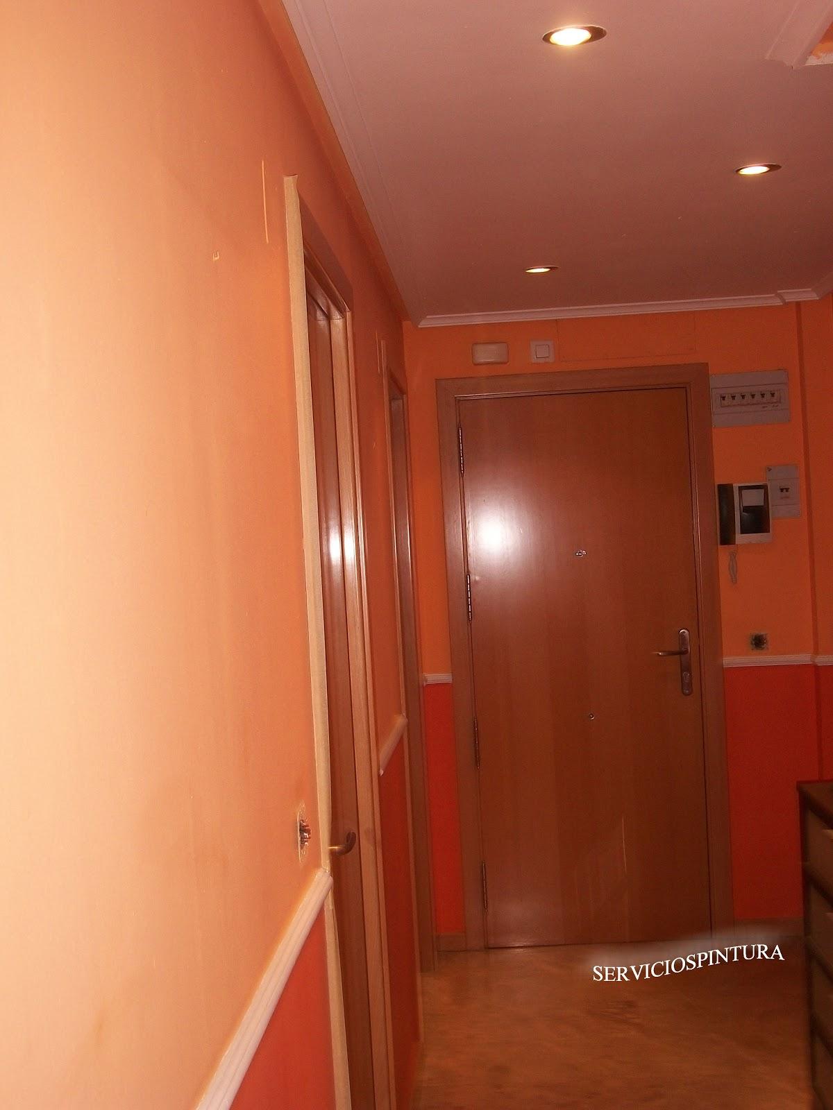 Servicios De Pintura En Zaragoza Pintamos Pisos ~ Colores Pintar Pasillo Y Entrada