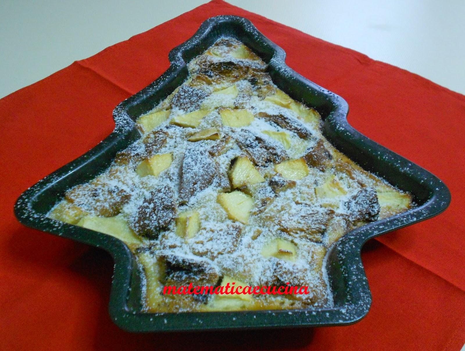 clafoutis di mele e panettone per un goloso riciclo e auguri 2015