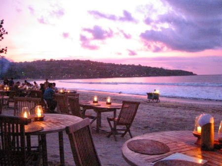 Wisata pantai dan seafood jimbaran hotel