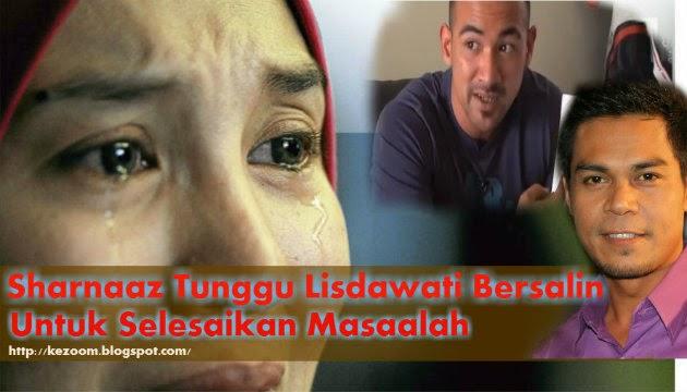 Sharnaaz Tunggu Lisdawati Bersalin Selesai Masaalah