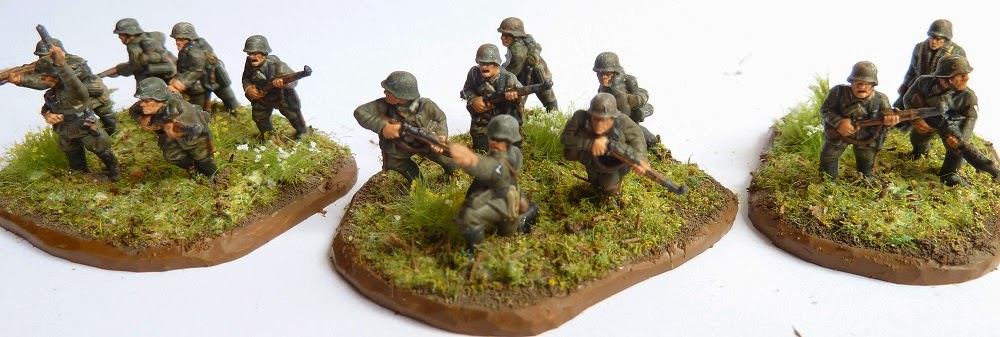 15mm German Zombie Platoon 24 models War Without End