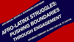 Feb. 29, 2020-Afro Latinx Struggles: Pushing Boundaries through Engagement