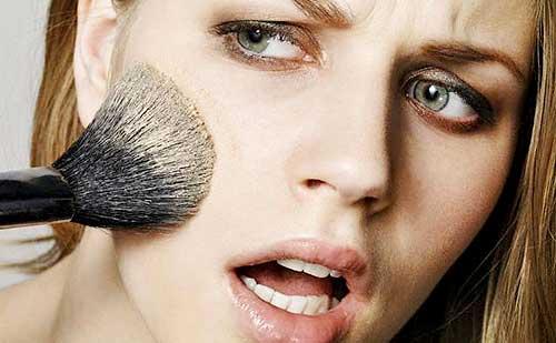 Que hacer cuando los trucos de maquillaje no te salen