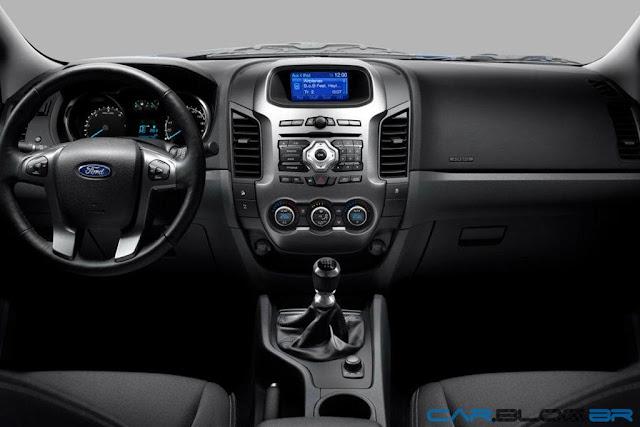 Nova Ford Ranger 2013 XLT Limited 3.2 Diesel - painel