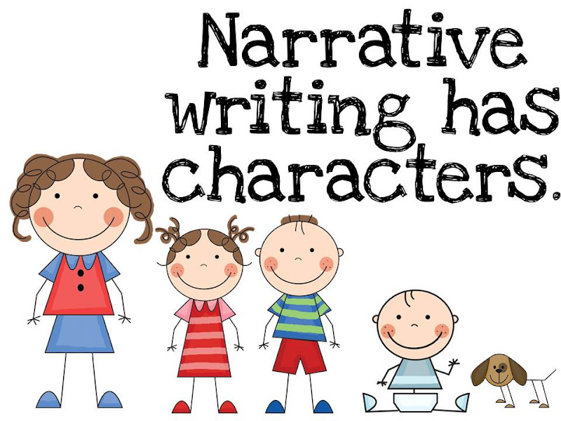 narrative writing has characters